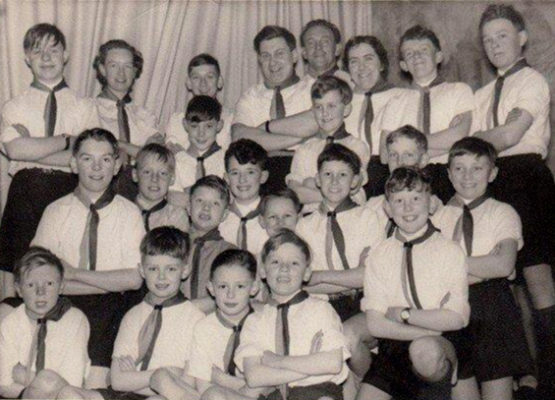 Bottesford Boy Scouts, possibly c.1960