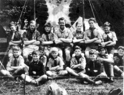 Scouts International Jamboree Camp, Belvoir Castle, 1947