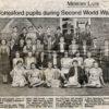 Bottesford school pupils in 1940