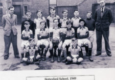 Bottesford School football team, 1949