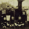 Bottesford boys football team in the Edwardian years