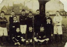 Bottesford boys football team in the Edwardian years