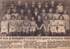 Bottesford school in 1946