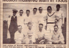 Muston cricket team, 1930s