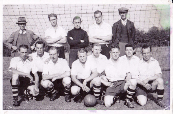 Bottesford football club team, early 1950s | From the collection of Philip Sutton