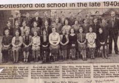 Bottesford school photograph, late 1940s
