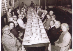 Bottesford Mother's Union dinner, early 1960s