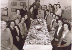 Bottesford Mothers Union dinner, mid 1960s