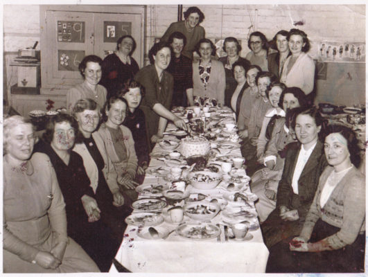 Bottesford Mothers Union dinner, mid 1960s   From the collection of Philip Sutton