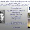 Remembering Sgt. John Richard Robinson