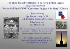 Remembering Sgt. Walter Hardy DCM