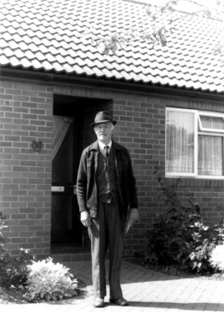 Robin Spick in 1981, from The Book of Bottesford by Michael Honeybone. | Bottesfortd Local History Society archive