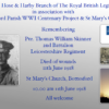 Remembering Pte. Thomas William Skinner