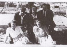 The Marston family in Nottingham, 1949
