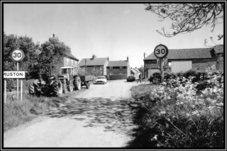 Approaching Muston c.1980 | Bottesford Local History Archive