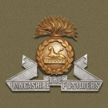Cap badge of the Lancashire Fusiliers | Wikipedia