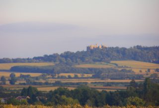 Looking from Beacon Hill: the view south towards Belvoir Castle. | Neil Fortey