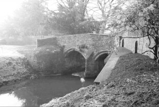 Fleming's Bridge over the River Devon. Dr Samuel Fleming was the Rector of Bottesford in the first two decades of the 17th Century.