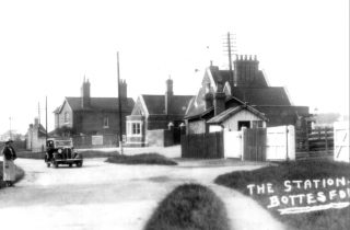 Bottesford Station in the 1930s.