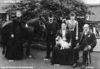 The Hardy family, 1911. From the collection of Miss Charlotte Bugg. | Bottesford Local History Archive