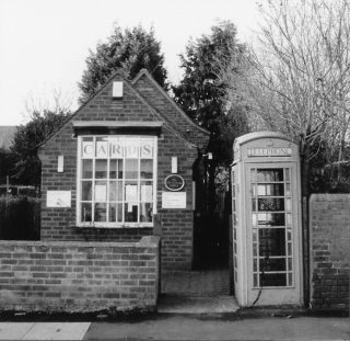 The Telephone Exchange building, before removal of the call box in 2007. | Bottesford Local History Archive