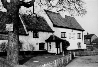 The Red Lion, 1980s. | Bottesford Local History Archive