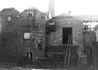 Site of the Mill House Laundry, Queen Street. | Bottesford Local History Archive