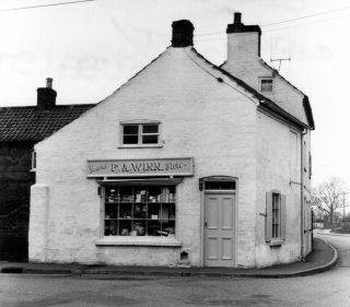 F. A. Winn's shop. | Bottesford Local History Archive, ©Ted Rayson