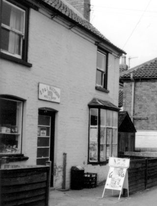Watchorn's shop, Chapel Street. | Bottesford Local History Archive