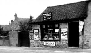 M & A Miller's Store. | Bottesford Local History Archive