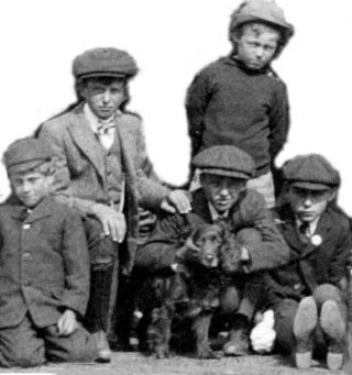 Bottesford children c.1911. | Bottesford Local History Archive