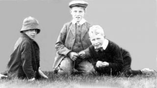 Children at Bottesford agricultural show, ca.1900. | Bottesford Local History Archive