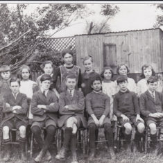 Muston Village School 1924 | Linda Clayton, Bottesford Local History Archive