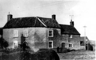 Old farmhouse at corner of Skerry Lane. | Bottesford Local History Archive