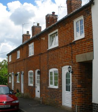 Post-Office Row cottages today. | Bottesford Local History Archive