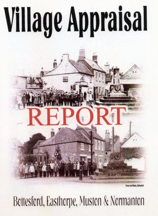 Front cover of the Bottesford Village Appraisal report. | Bottesford Local History Archive