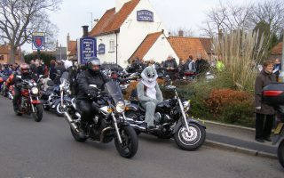 Start of the 'Bunnie Run', 2007. | Bottesford Local History Archive