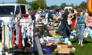 Bottesford car boot sale, May 2009. | Bottesford Local History Archive
