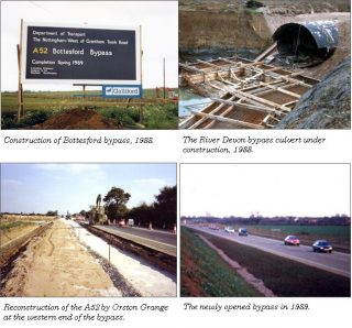 Building the A52 Bottesford Bypass | Bottesford Local History Archive