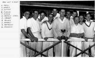 Bottesford cricket team, circa 1950. | Bottesford Local History Archive