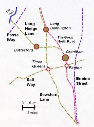 Old routes around Bottesford. | Bottesford Local History Archive