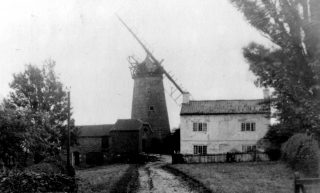 The Top Mill, c.1900. | Bottesford Local History Archive