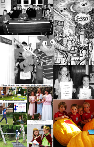 Pictures from the front pages of each of the six editions of Village Voice published in 2006.   Bottesford Local History Archive