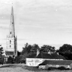Church Farm 1958. Copyright Ted Rayson