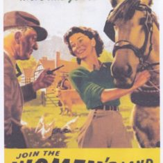 Women's Land Army recruitment poster. www.womenslandarmy.co.uk