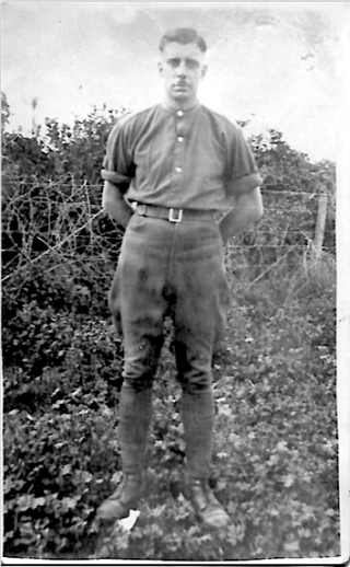 Trooper Harry Daybell in jodhpurs | From the collection of Herbert Daybell