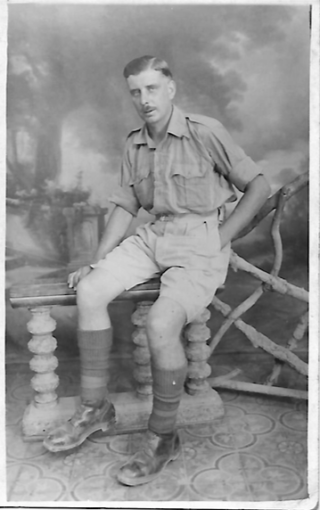 Trooper Harry Daybell in North Africa | From the collection of Herbert Daybell