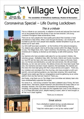 Coronavirus - Life During Lockdown