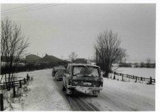 Winter 1979, Nottingham Road, approaching Bottesford