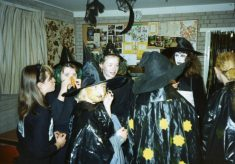 The Guides' Halloween party, 1989